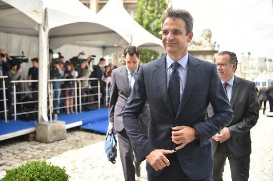 キリアコス・ミツォタキス新首相