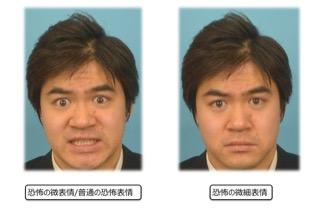微表情と微細表情
