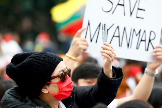 Taiwan: Burmese Rally Against Military Killings In Myanmar
