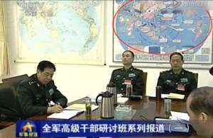人民解放軍の「米中戦争作戦図」が流出!?