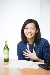 キリンビール・マーケティング部 渡辺美里氏