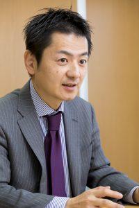 エビソル代表取締役社長・田中宏彰氏