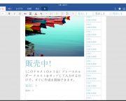 配布資料 pdf 保存 windows