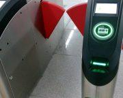 タッチ式自動改札