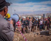 避難民キャンプ