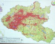 シェンクワン県の汚染状況。