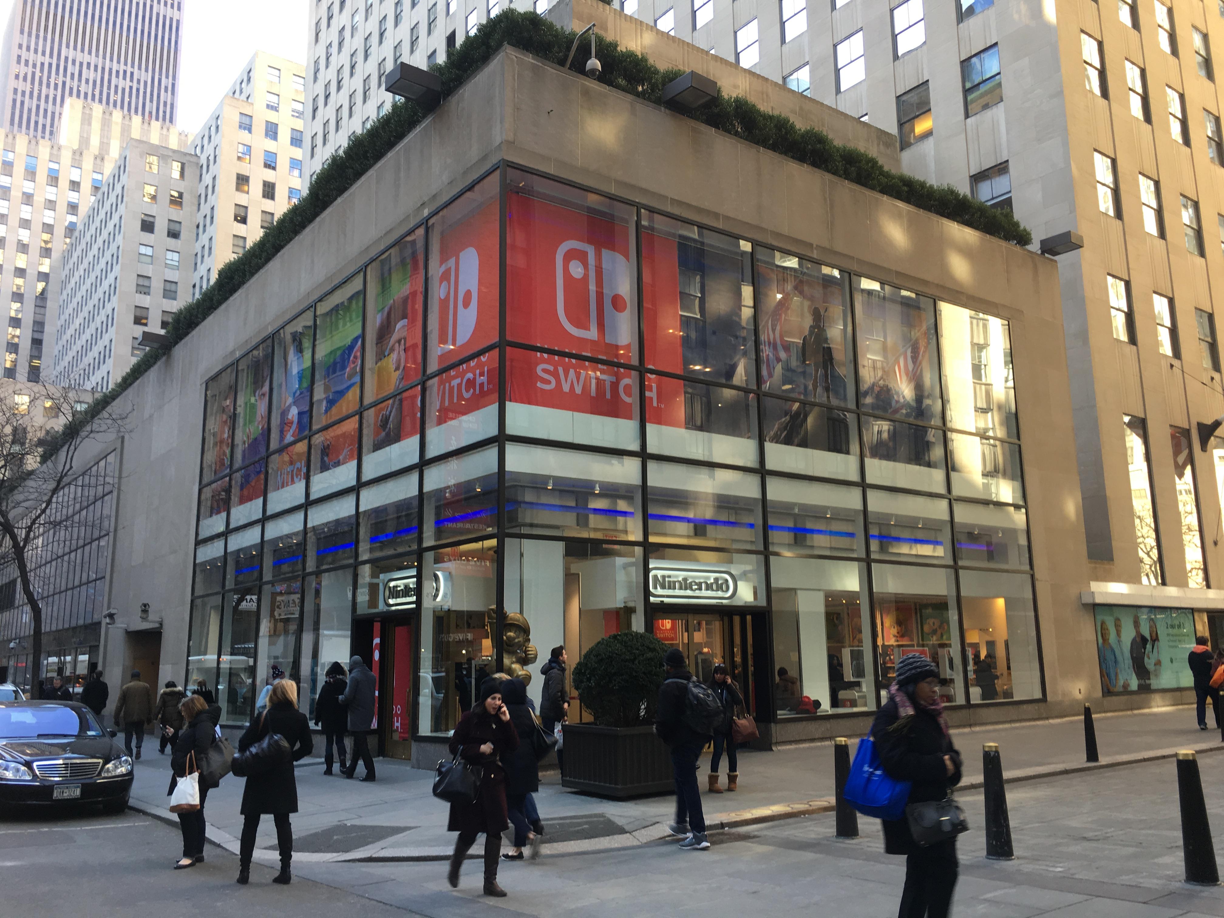 「nintendo ニューヨーク」の画像検索結果