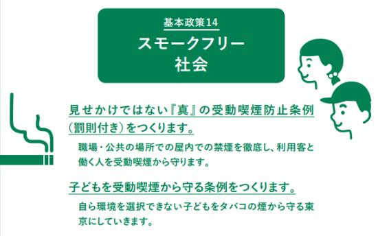 受動 条例 喫煙 都 東京 防止