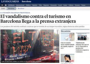 世界第三位の観光地、バルセロナで「観光者排斥」運動が起きている