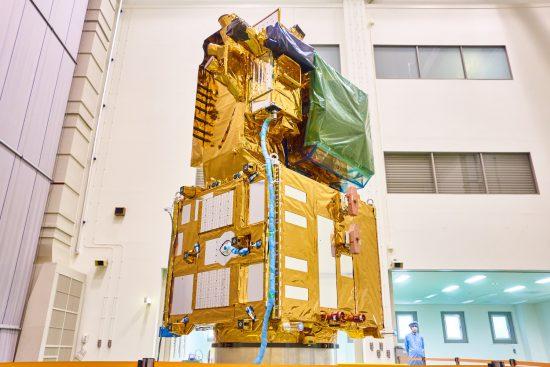 JAXAが公開した気候変動観測衛星「しきさい」