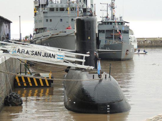 消息を断ったアルゼンチン潜水艦...