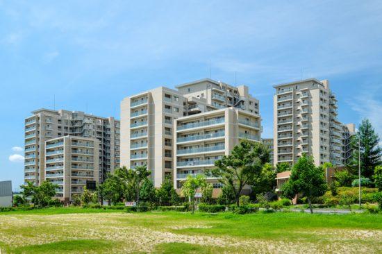 高層住宅群