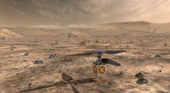 火星ヘリコプター