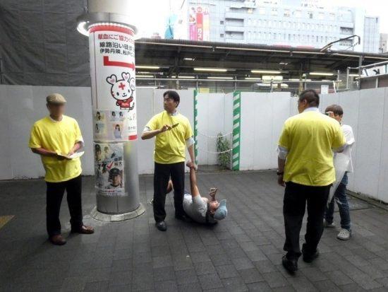 NHKから国民を守る党」議員が松戸市長選運動中に市民メディアに