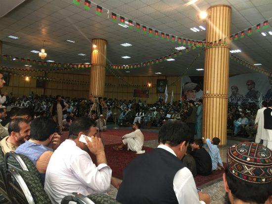 メムラ村青年グループは、ナンガルハル県知事へ停戦延長の申し入れを行った