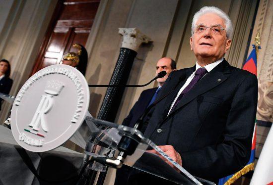 伊マッタレッラ大統領
