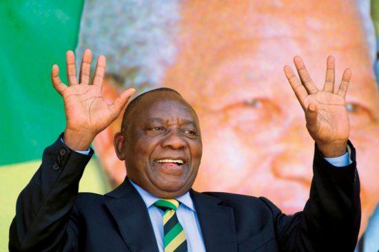 ラマポーザ南アフリカ副大統領