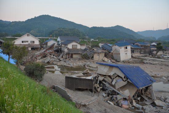 真備町の被害