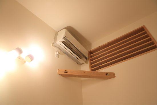 我が家に設置しているエアコンはごく普通の機種