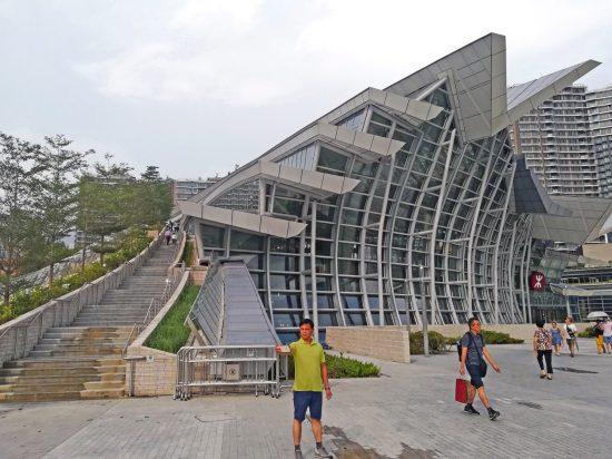 香港西九龍駅の駅ビル
