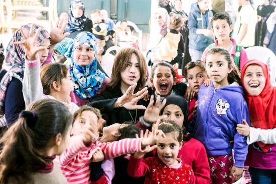 ヨルダン難民キャンプ