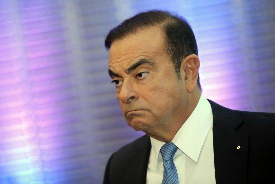Renault Group CEO Carlos Ghosn