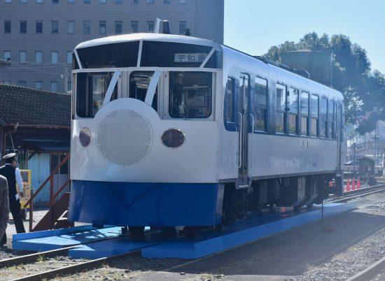 毎日運行のミニミニ新幹線