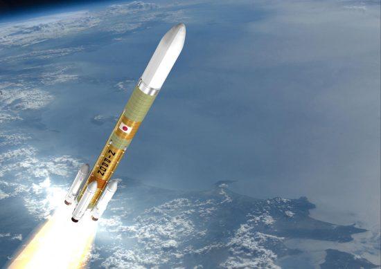 H3ロケットの想像図