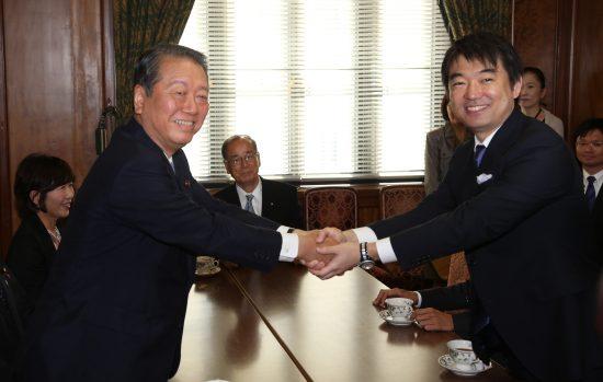 小沢一郎と橋下徹