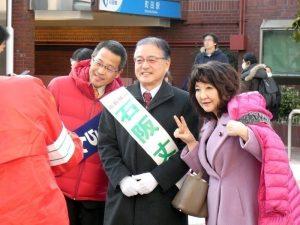 町田市長の石阪丈一氏