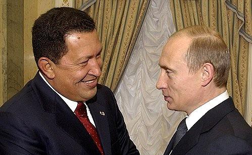 プーチンとチャベス