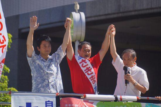沖縄県知事選の菅長官