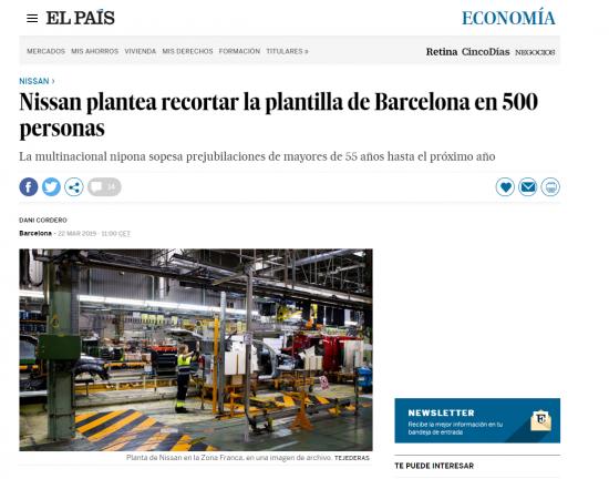 「El Pais」紙