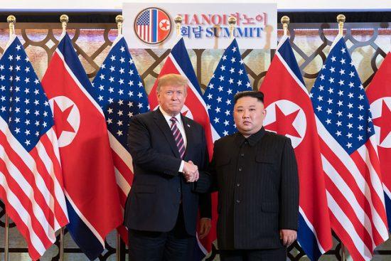 トランプ大統領と金正恩委員長