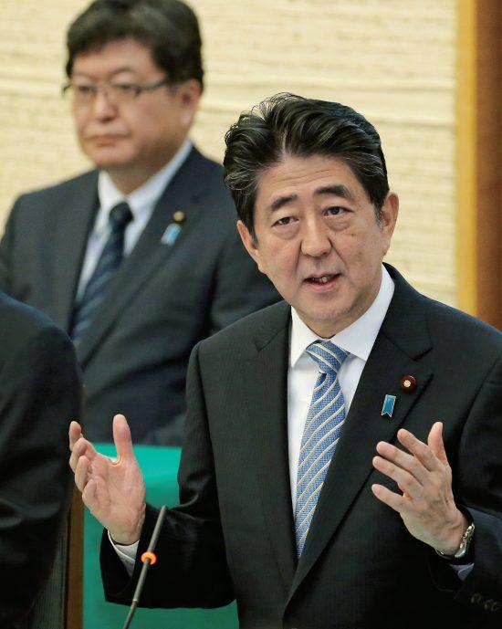 萩生田幹事長代行と安倍総理