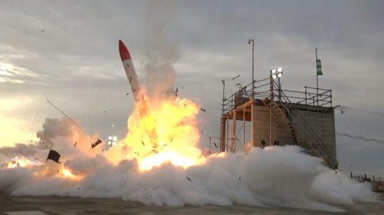 MOMO 2号機の打ち上げ失敗時