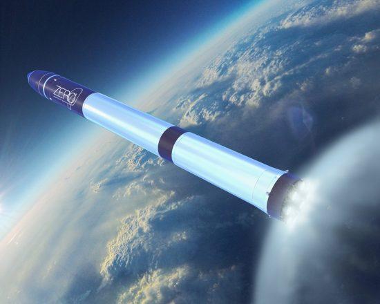 超小型ロケット「ZERO」の想像図