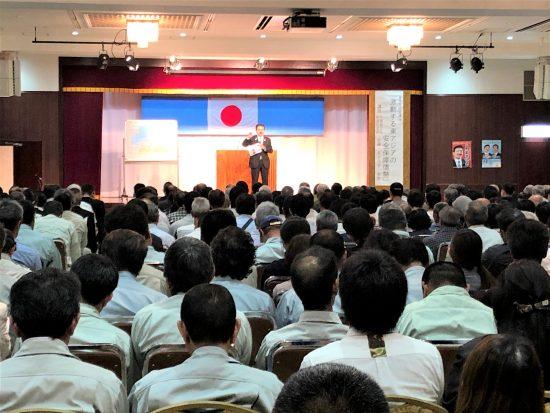 佐藤正久外務副大臣の講演会