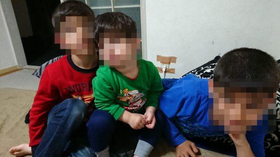 イナンさんの3人の子供たち