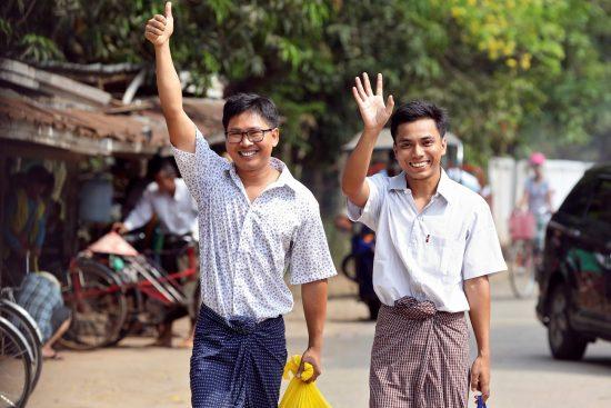 MYANMAR-MEDIA-JUSTICE