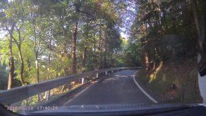 県道255号線から国道197号線