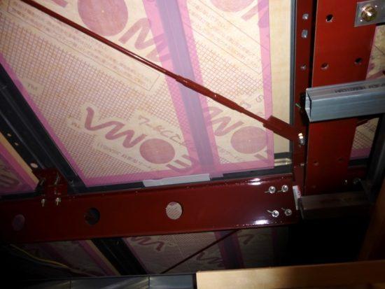 小屋裏収納の天井部分