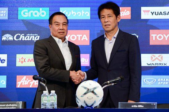 Thailand Football Coach Akira Nishino