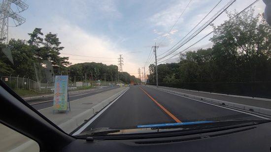 日本原電東海第二発電所入り口付近