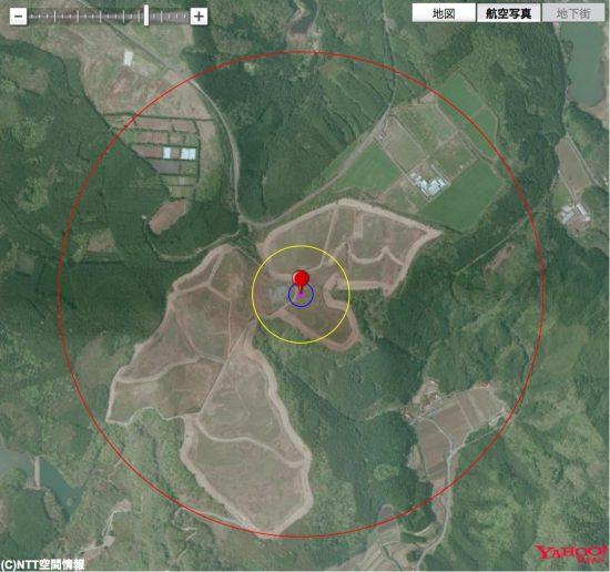 イージス・アショア配備予定地陸上自衛隊むつみ演習場と半数必中界