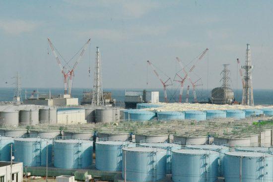 汚染水のタンク
