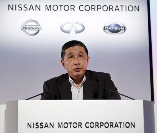 日産自動車の西川(さいかわ)広人CEO