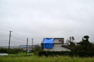 台風15号で被災した千葉県の住宅
