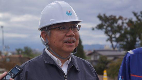 堤防調査委員会の大塚悟委員長