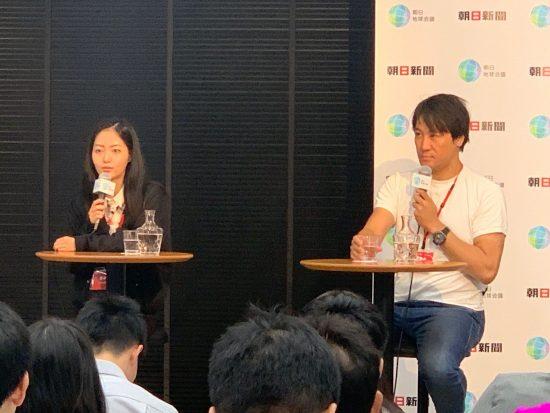 ハヤカワ五味さん(左)とヨッピーさん(右)